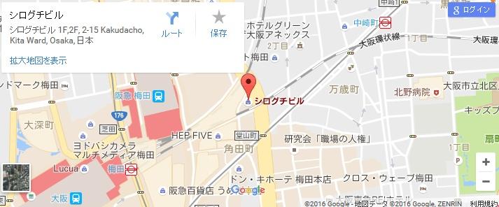 エタラビ 茶屋町店の地図