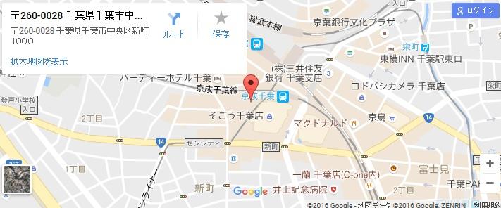 エタラビ 千葉センシティ店の地図