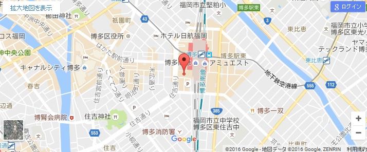 エタラビ 博多マルイ店の地図