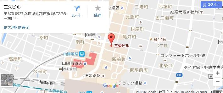 エタラビ 姫路店の地図