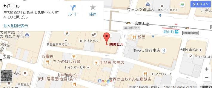 エタラビ 広島店の地図