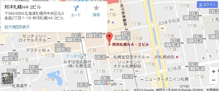 エタラビ JR札幌駅前店の地図