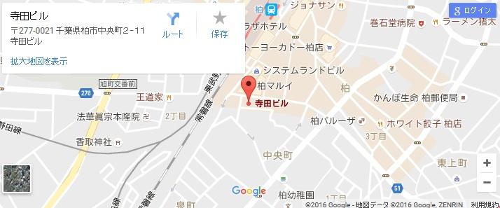 エタラビ 柏店の地図