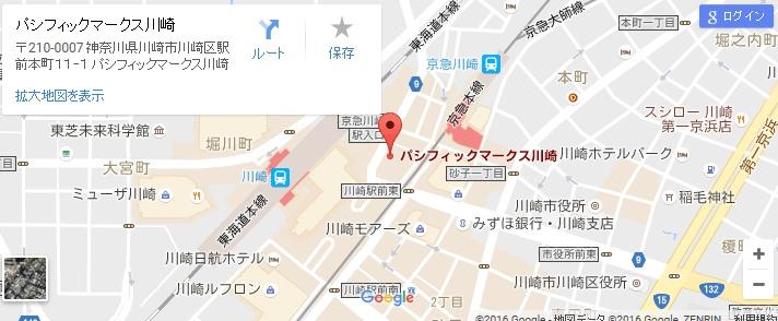 エタラビ川崎駅前店の地図