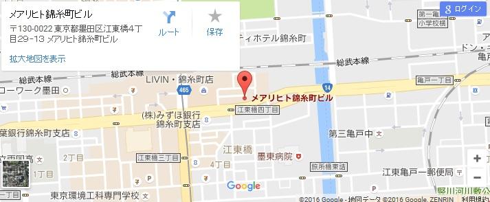 エタラビ 錦糸町店の地図