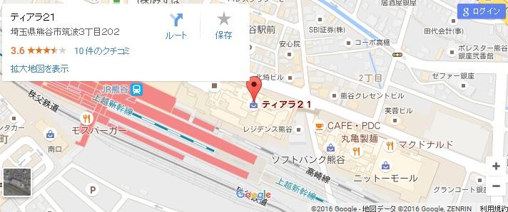 エタラビ 熊谷店の地図