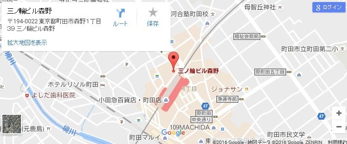 エタラビ 町田店の地図