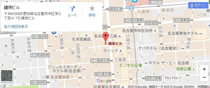 エタラビ 名古屋栄店の地図