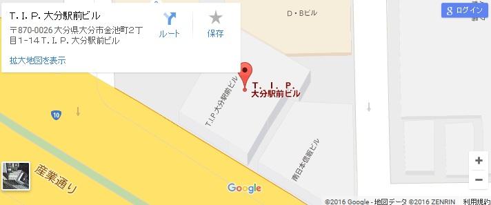 エタラビ 大分店の地図