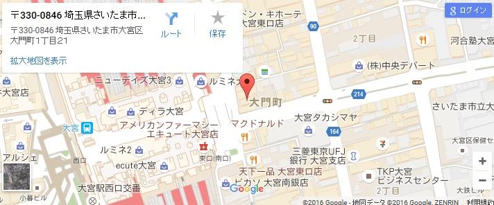 エタラビ 大宮店の地図