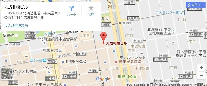 エタラビ J札幌中央店の地図