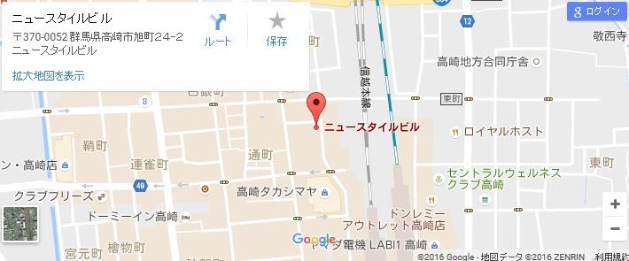 エタラビ 高崎店の地図