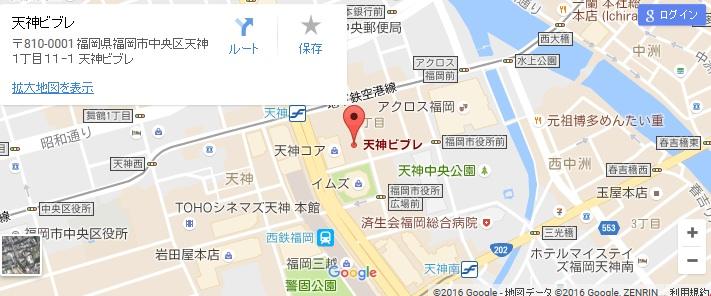 エタラビ 天神ビブレ店の地図