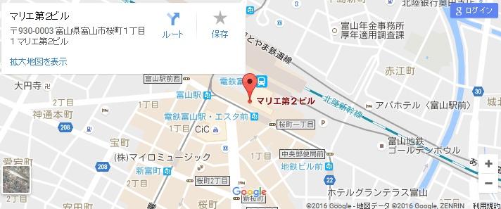 エタラビ 金沢パティオ店の地図