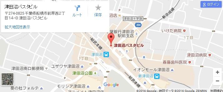 エタラビ 津田沼駅前店の地図
