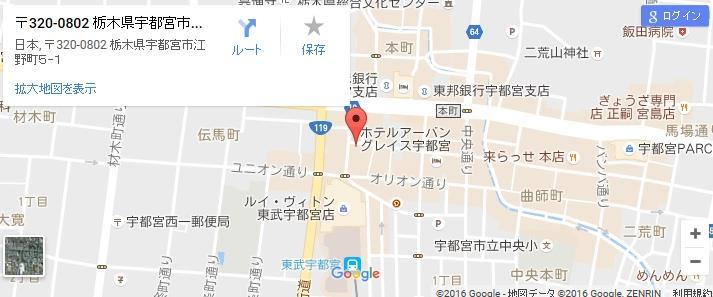 エタラビ 宇都宮店の地図