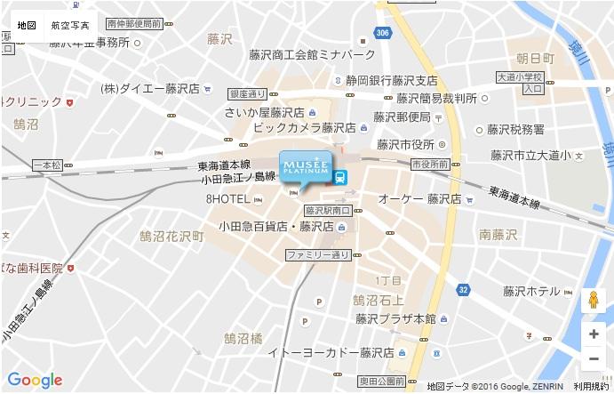 ミュゼ 藤沢店の地図