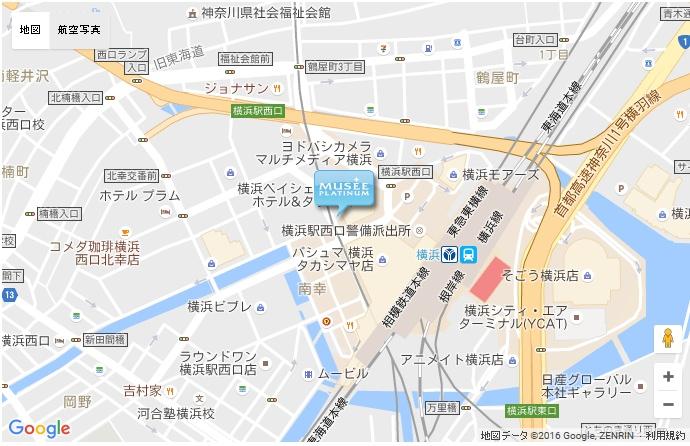 ミュゼ 横浜ファーストビル店の地図
