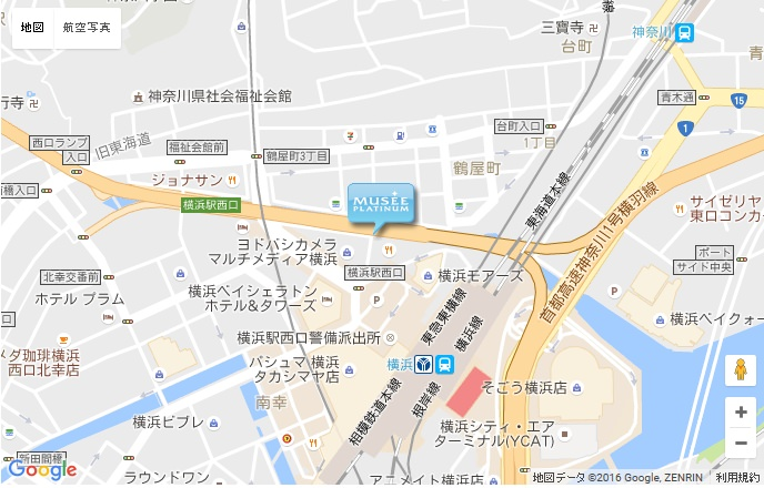 ミュゼ 横浜西口店の地図