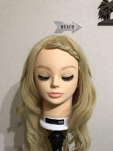 髪が長い人の前髪アレンジ 三つ編みのやり方