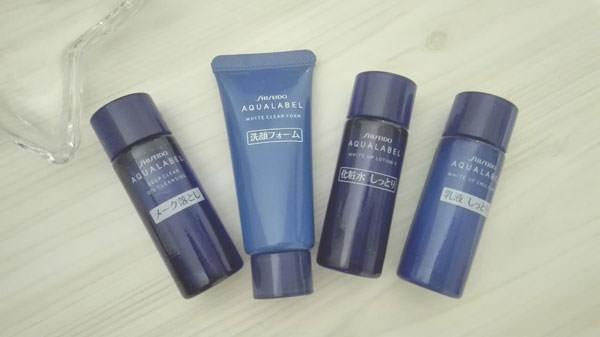 アクアレーベル美白化粧水・乳液 口コミ