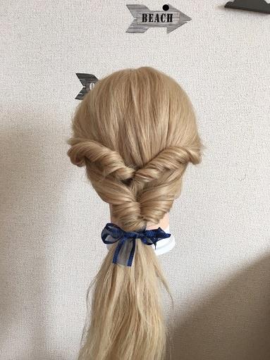 くるりんぱで「町中のベルの髪型」を作る
