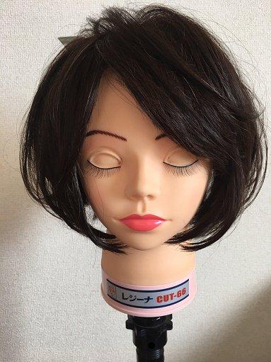 ショートヘアのカーラーの巻き方
