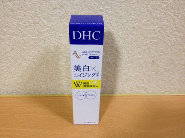 エラグ酸が配合のDHC 薬用エイジアホワイトミルク