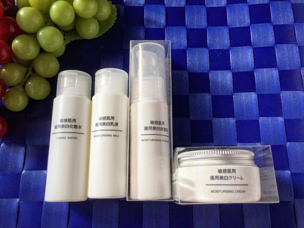 無印良品 オーガニック薬用美白化粧水 乳液 美容液