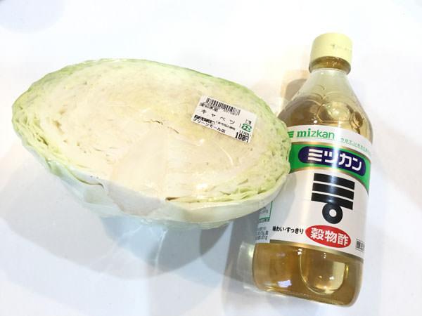 酢キャベツの材料