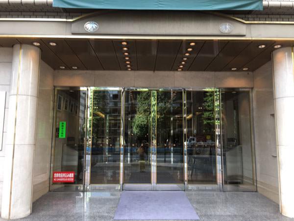 コートヤードマリオット銀座東武ホテル メインエントランス