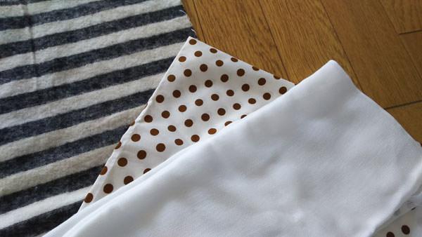 塩枕に使う布の種類