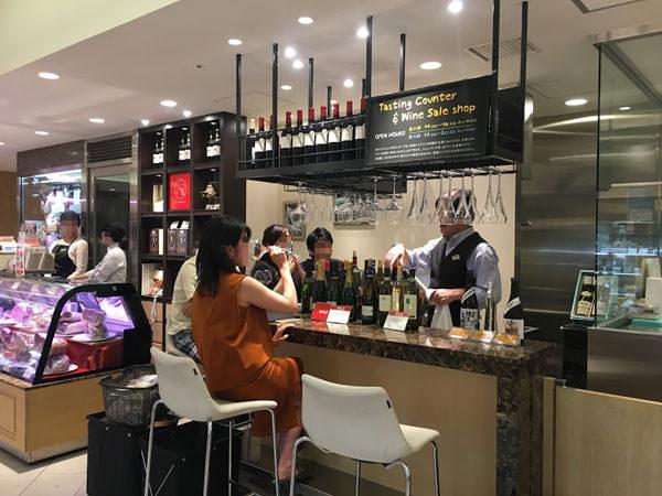銀座三越ワイン&リカー ラ・カーヴ