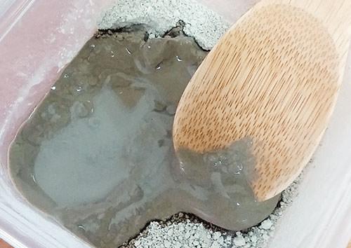 モンモリロナイトで手作りするクレイパックや洗顔料の使い方