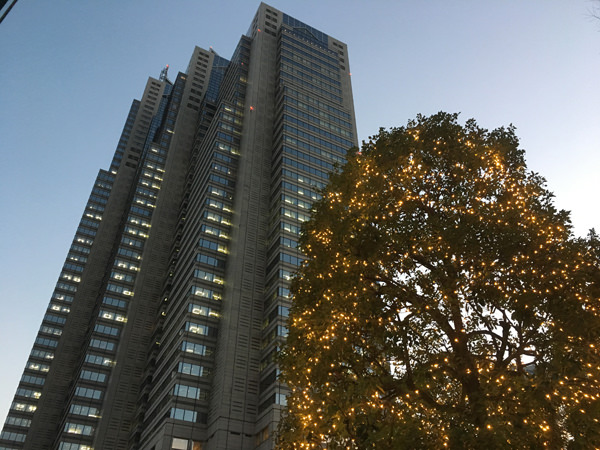 新宿パークタワー外観