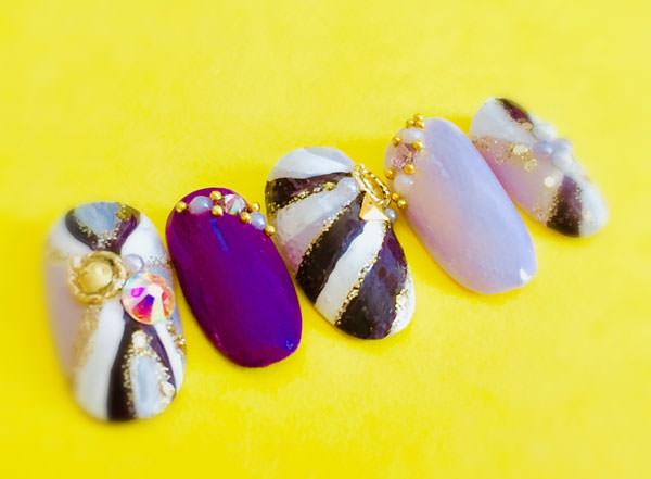 プッチ柄×紫