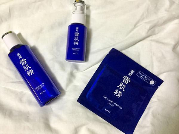 雪肌精【美白効果・口コミ】化粧水・乳液・マスクを体験