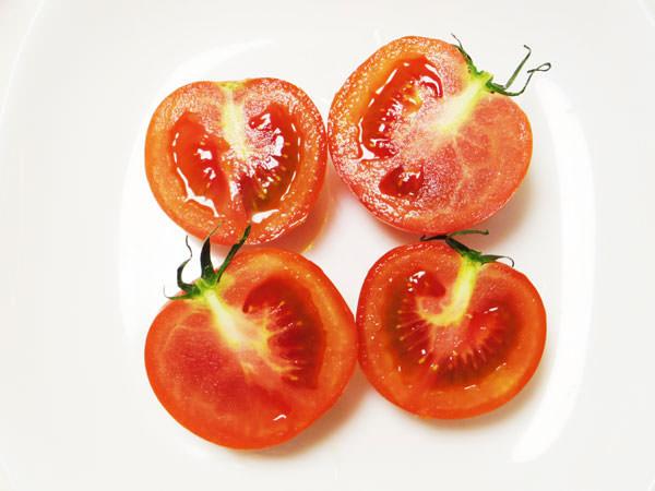 切ったトマト