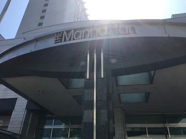 ホテルザ・マンハッタン エントランス