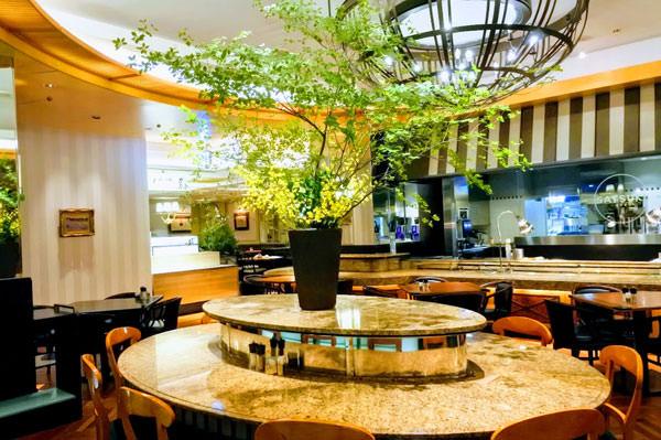 ホテルニューオータニ コーヒーショップ「SATSUKI」