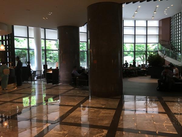 セルリアンタワー東急ホテル フロント