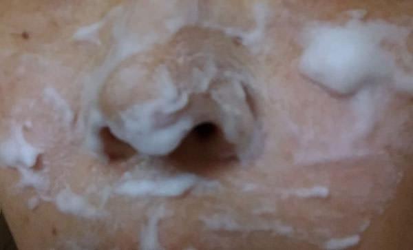エテュセ 洗顔料 ジェルムースで顔全体を洗顔