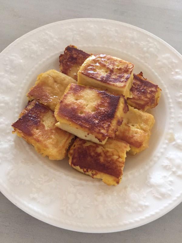 ダイエット料理レシピ2.高野豆腐のフレンチトースト