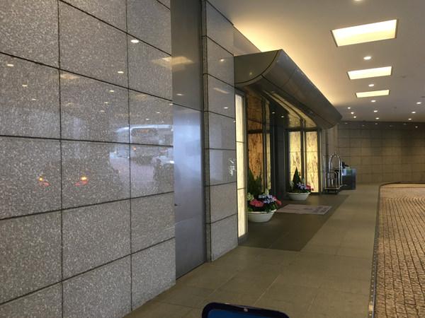セルリアンタワー東急ホテル エントランス