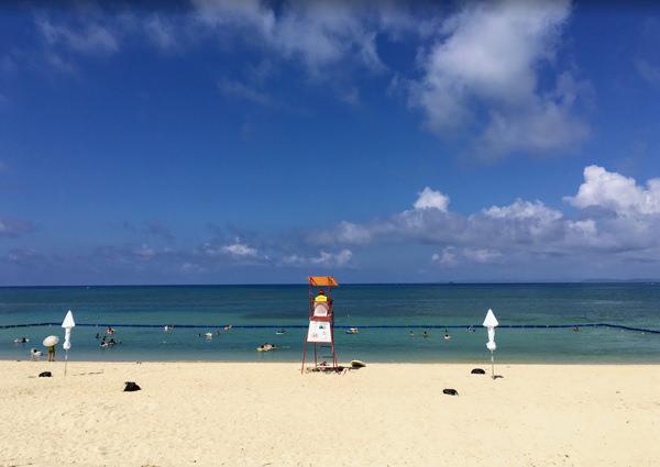 美らSUNビーチの遊泳区域