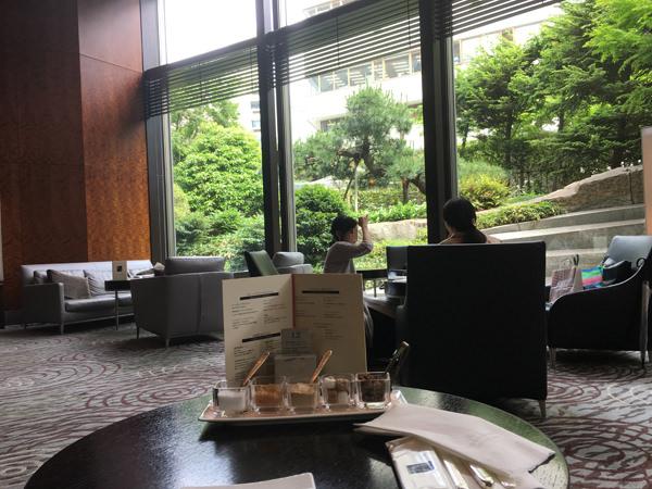 セルリアンタワー東急ホテル ラウンジ「坐忘」