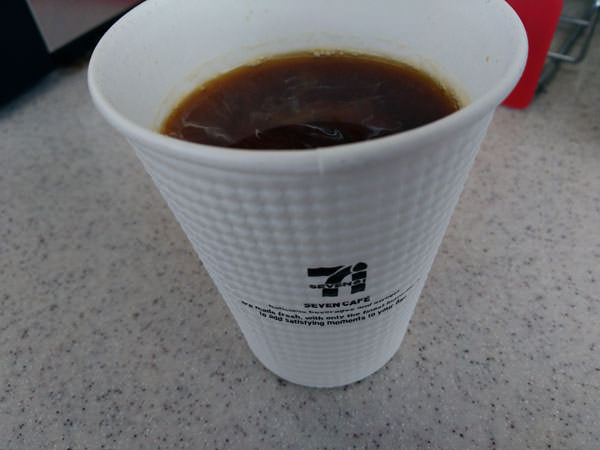 セブンイレブンコーヒー味の評価