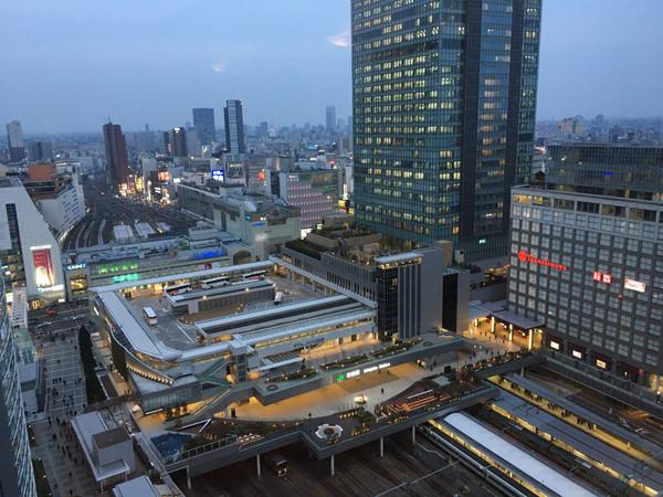 小田急ホテルセンチュリーサザンタワー眺め