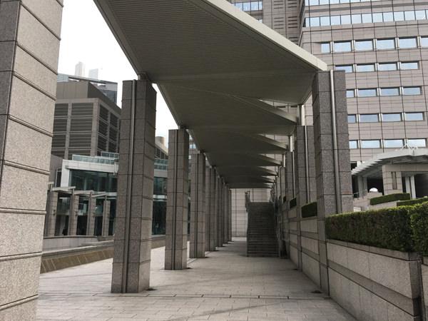 パークハイアット東京 階段