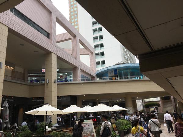 品川プリンスホテル ウイング中庭